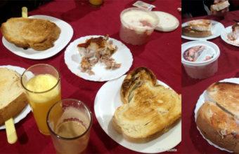 Los desayunos extra grandes de la Venta El Pollo