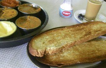 Las rebanás del desayuno de la Venta Junta de los Ríos