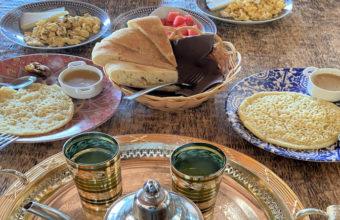 Los desayunos marroquíes de la Venta El Tajón