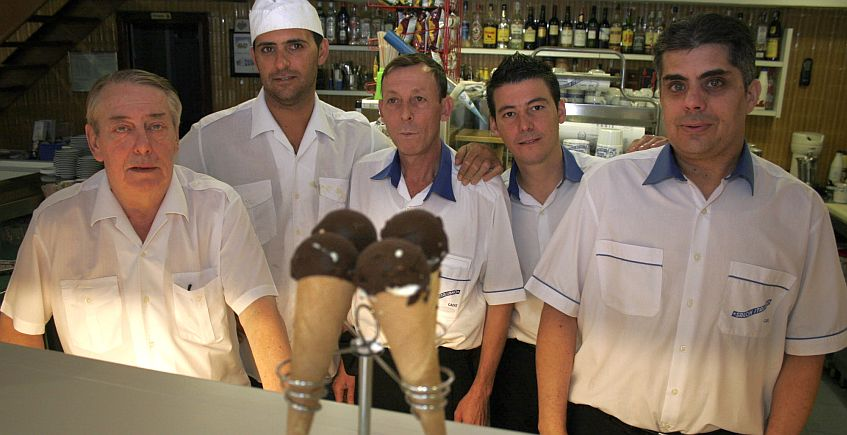 El helado que nació en Cádiz