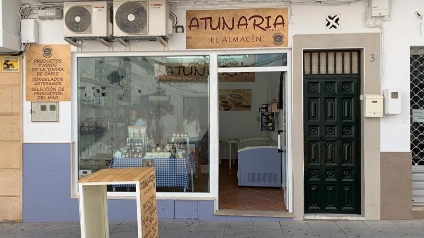 Atunaria, el almacén, la segunda tienda de Atunaria. Foto: Cedida por el establcimiento