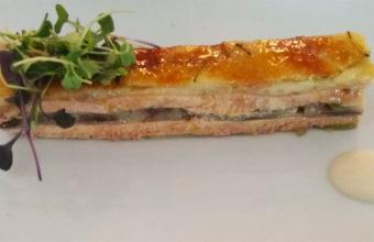 El milhojas de foie de El Árbol Tapas