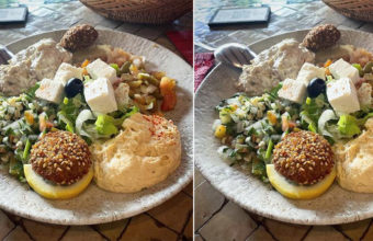 El surtido del Restaurante El Jardín del  Califa