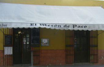 Jornadas del pulpo y el atún en el Mesón de Paco de Jerez. Durante todo el mes de junio