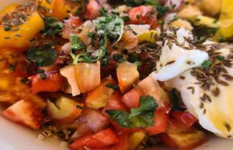 La ensalada de quinoa de Nahu Beach