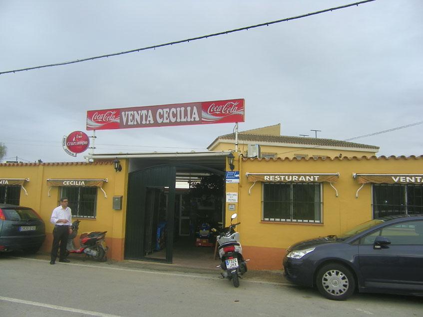 Vista exterior de la Venta Cecilia. Foto: Cosasdecome