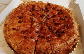 La torta de Rota de la pastelería La Rosa