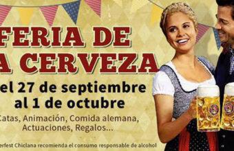 Del 27 de septiembre al 1 de octubre. Chiclana. Fiesta de la cerveza