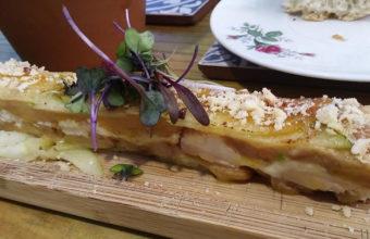 La milhoja de foie de La Candela