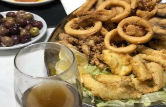 El frito gaditano del Bar Terraza