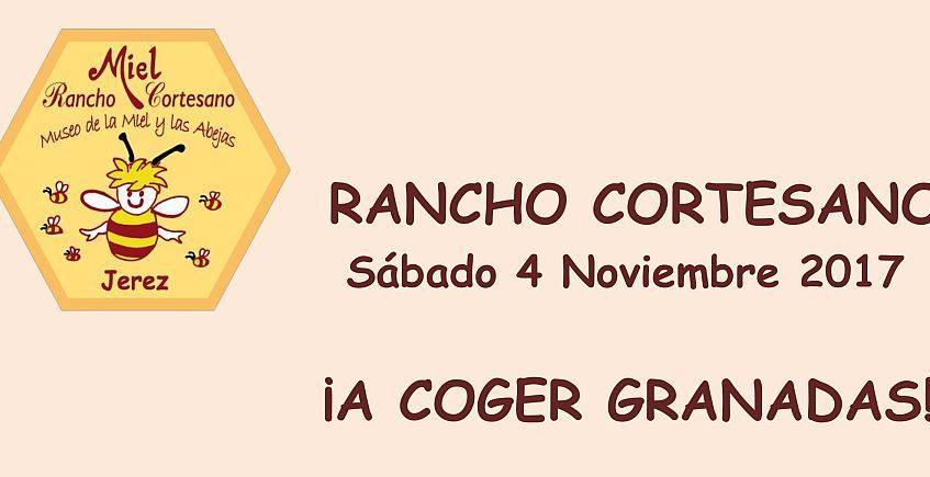 4 de noviembre. Jerez. Taller de granadas y apicultura en Rancho Cortesano