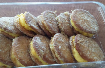 Las galletas fritas del Mosto Añina