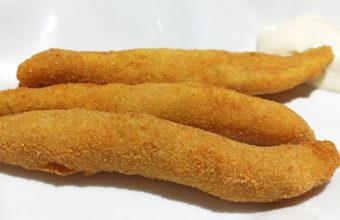 El gallo empanao del restaurante La Tasca