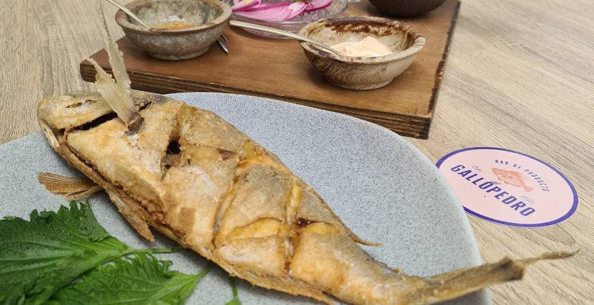 La dorada frita de Gallopedro