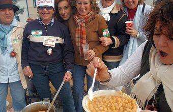 9 de noviembre. Trebujena. Concurso de cocina y mosto (garbanzos como conejo)