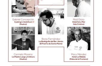 Cocina con Huelva en La Bodeguilla del Bar Jamón de El Puerto el 7 de junio