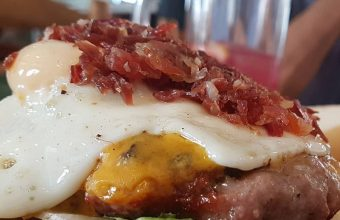 La hamburguesa de El Fogón de Mariana