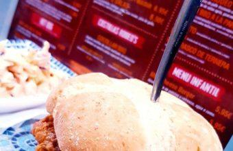 La hamburguesa de buey de Rodeos House