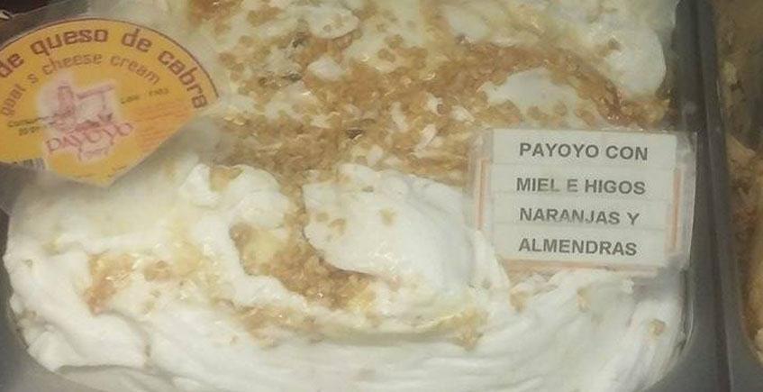 El helado de queso payoyo de la heladería Da Massimo