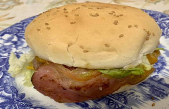 La hamburguesa de Hermanos Pelao