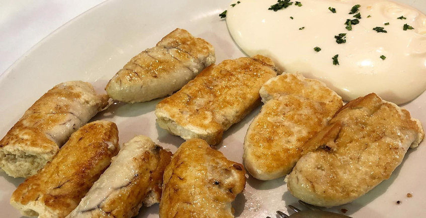 Las huevas con mayonesa de la Venta Esteban
