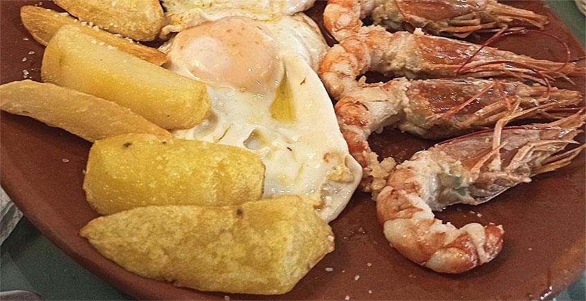 Los huevos fritos marineros de Bocarambo