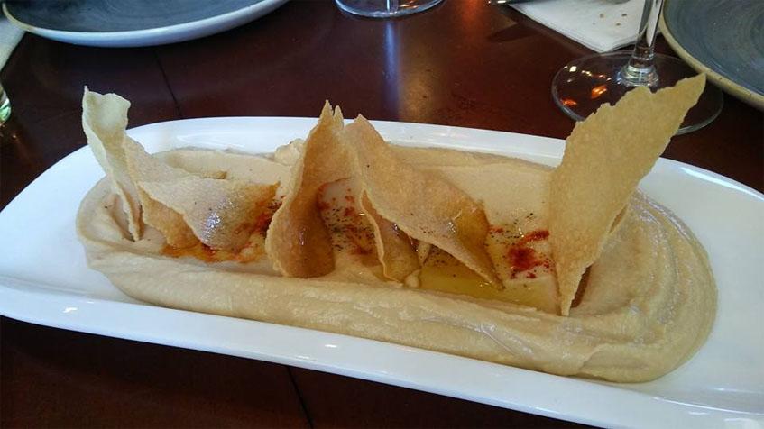 El humus fotografiado por Lola López de la Orden