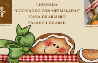 1 de abril. Medina Sidonia. Taller de cocina con mermeladas