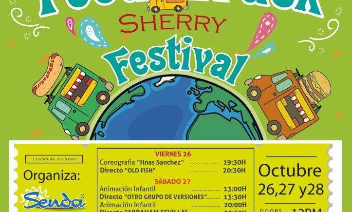 Del 26 al 28 de octubre: Festival de furgonetas de comida ambulante en la Ciudad de los Niños de Jerez