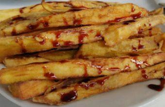 Las berenjenas fritas con miel del Canijo