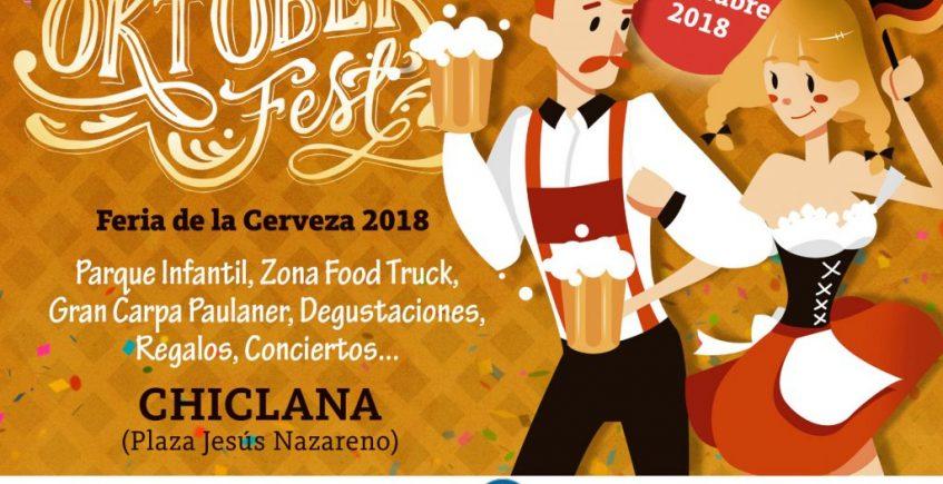 Del 3 al 7 de octubre. Chiclana. Oktoberfest 2018.