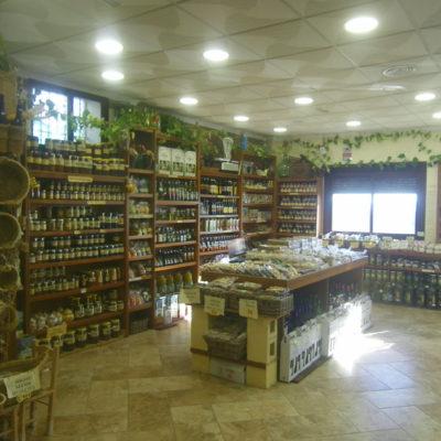 La zona de exposición de la tienda. Foto: Cosasdecome