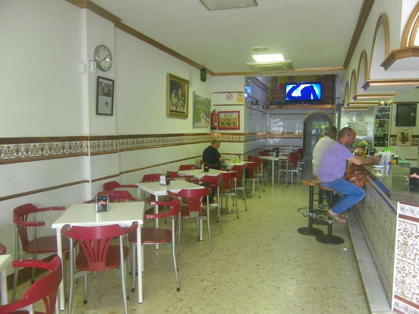 El comedor del bar Matías. Foto: Cosasdecome
