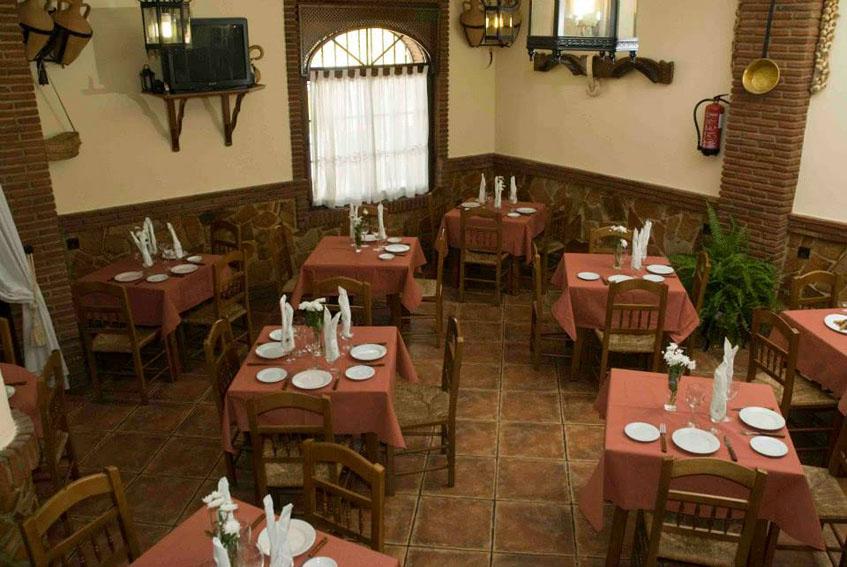 Interior del Mesón Sabor Andaluz. Foto: Cedida por el estableciimiento.