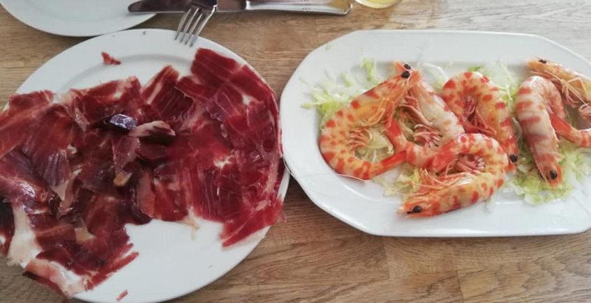 El jamón ibérico del Restaurante Don Pepe