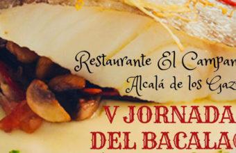 Del 28 de marzo al 8 de abril. V Jornadas del Bacalao en el restaurante El Campanero