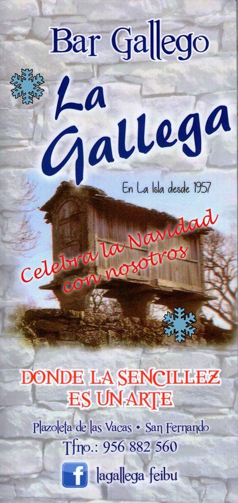La Gallega 1 menu 847