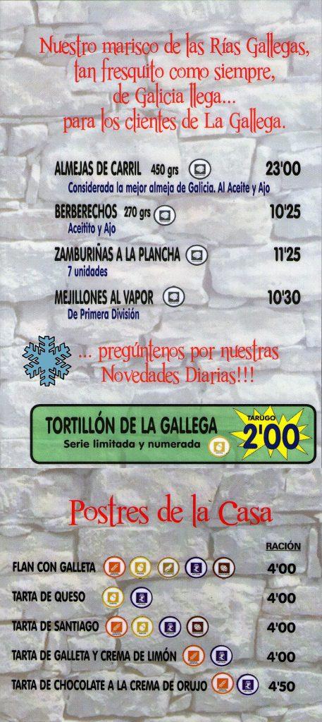 La Gallega 4 847