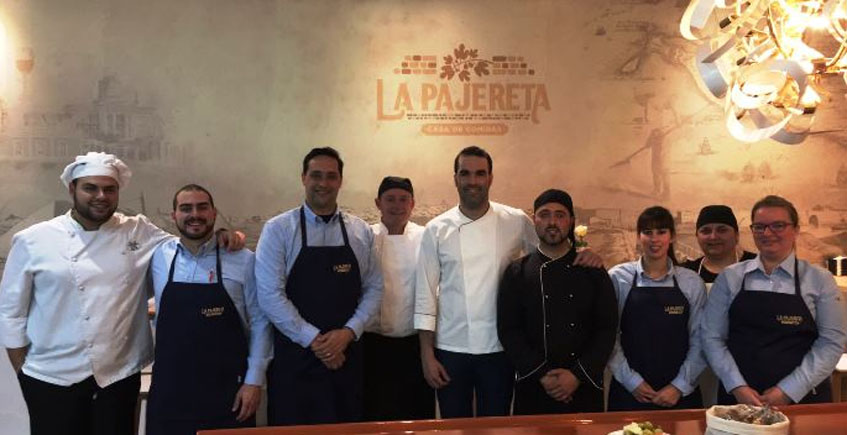 La cocina isleña de La Pajereta