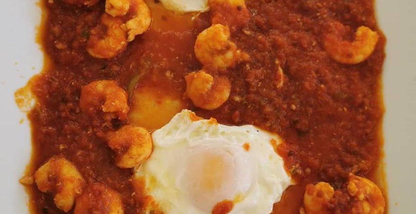 Los langostinos con tomate de Avante Claro