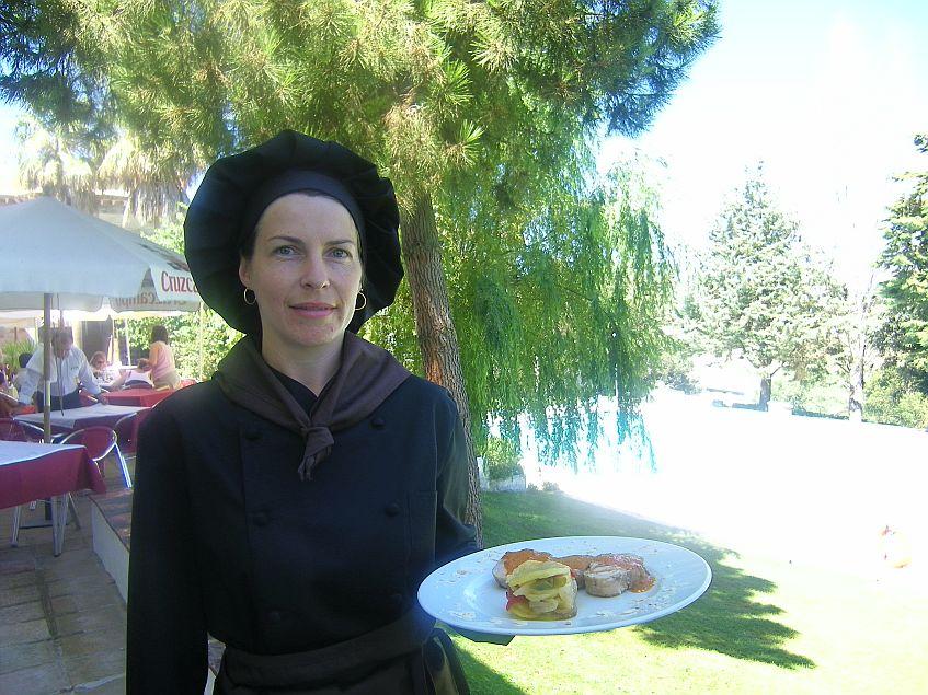 La cocinera Laura Guzmán