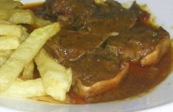 La lengua en salsa de la Venta Durán