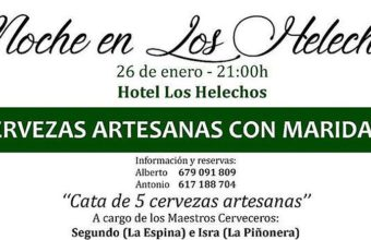 26 de enero. Sanlúcar. Cervezas artesanas con maridaje en Los Helechos