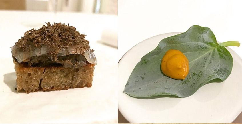 """El menú """"Caliza"""" de Mantúa"""