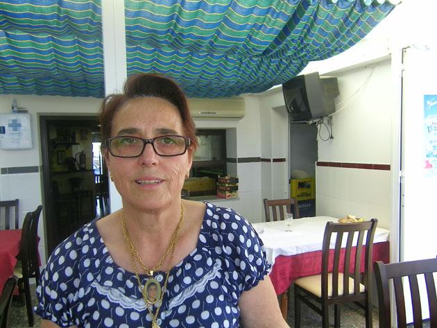 Manuela González, la autora de esta receta. Foto: Cosasdecome