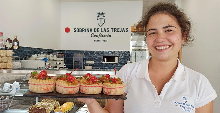 La cafetería de Sobrina de Las Trejas en La Barrosa ya está abierta