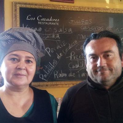 Maribel Clavijo y Guillermo Calle. Foto: Cosasdecome