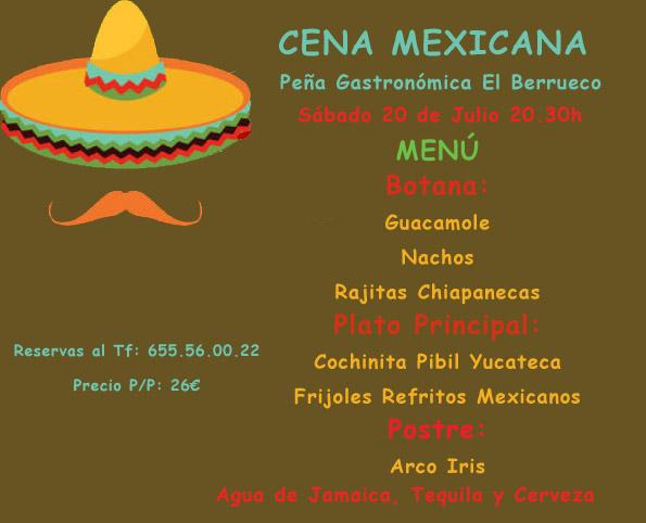 Menú-Mexicano