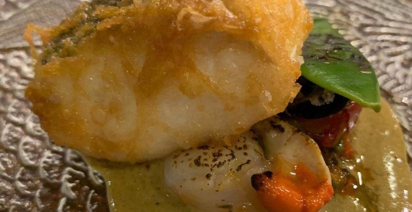 La merluza en tempura de A plomo