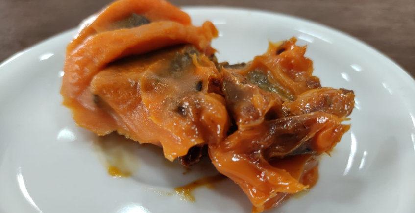 El mollete con hígado en manteca colorá de Casa Daniela